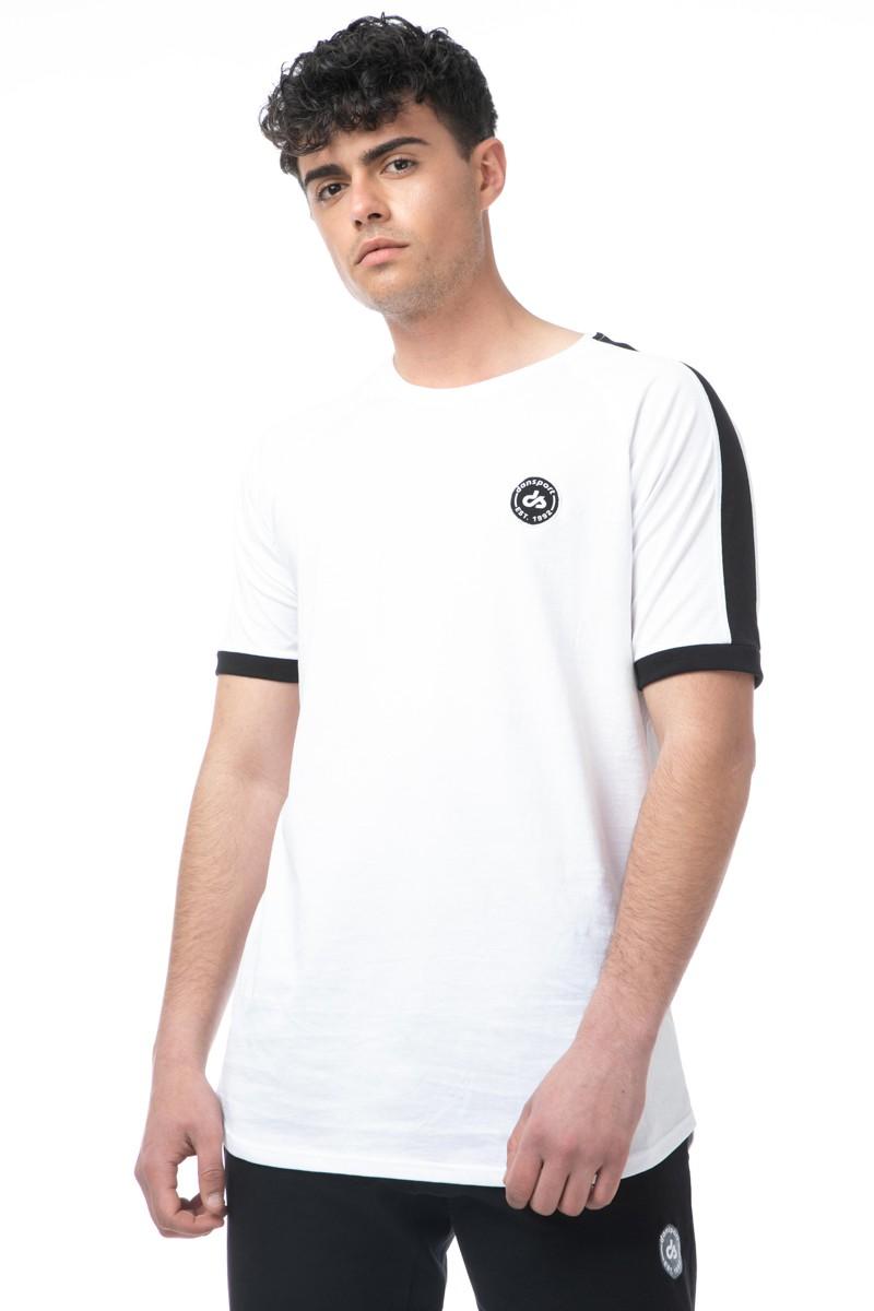 Ανδρικό T-shirt Δίχρωμο