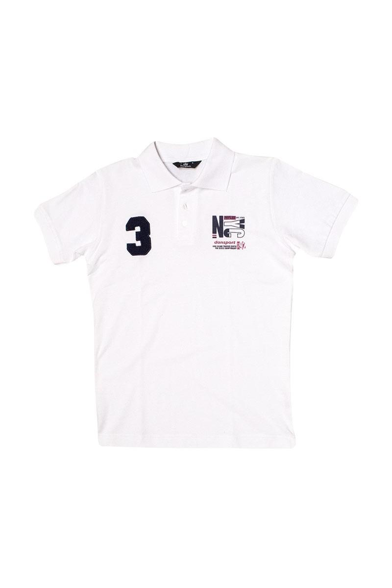 Ανδρικό Μπλουζάκι Με Γιακά